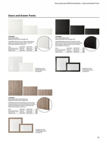 IKEA  BESTÅ BG 2022. Page 29