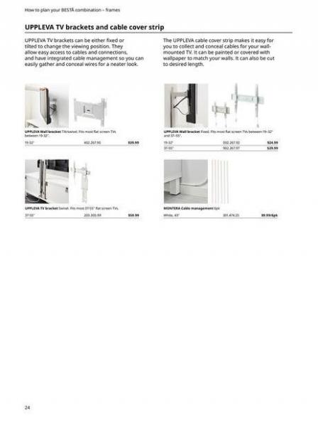 IKEA  BESTÅ BG 2022. Page 24