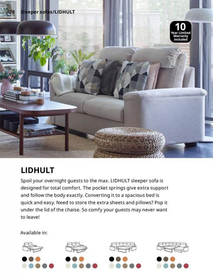 IKEA Sofa 2021. Page 70