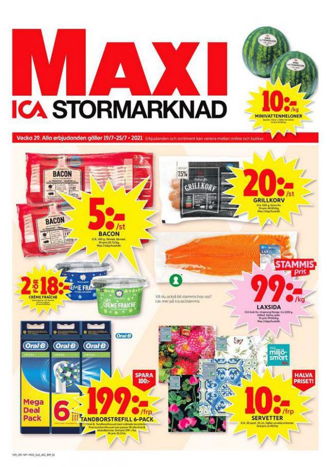 ICA Maxi Erbjudanden. ICA Maxi (2021-07-25-2021-07-25)