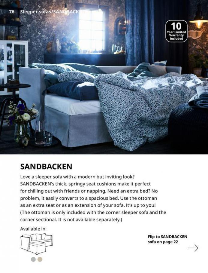 IKEA Sofa 2021. Page 76