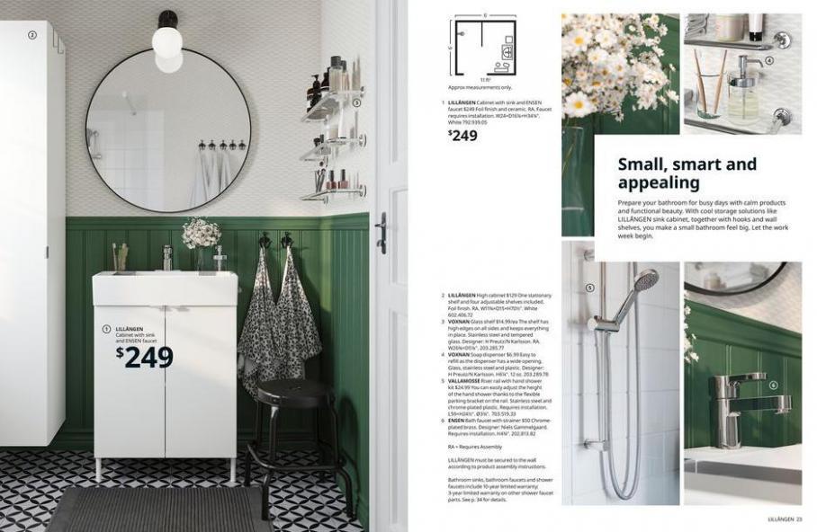 IKEA Bathroom 2021. Page 12