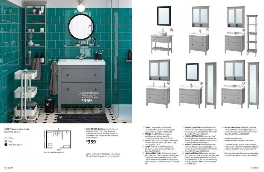 IKEA Bathroom 2021. Page 6