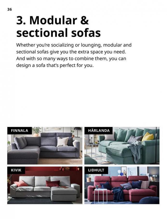 IKEA Sofa 2021. Page 36