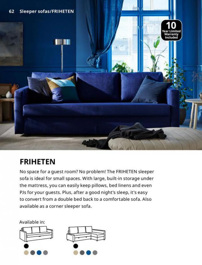 IKEA Sofa 2021. Page 62