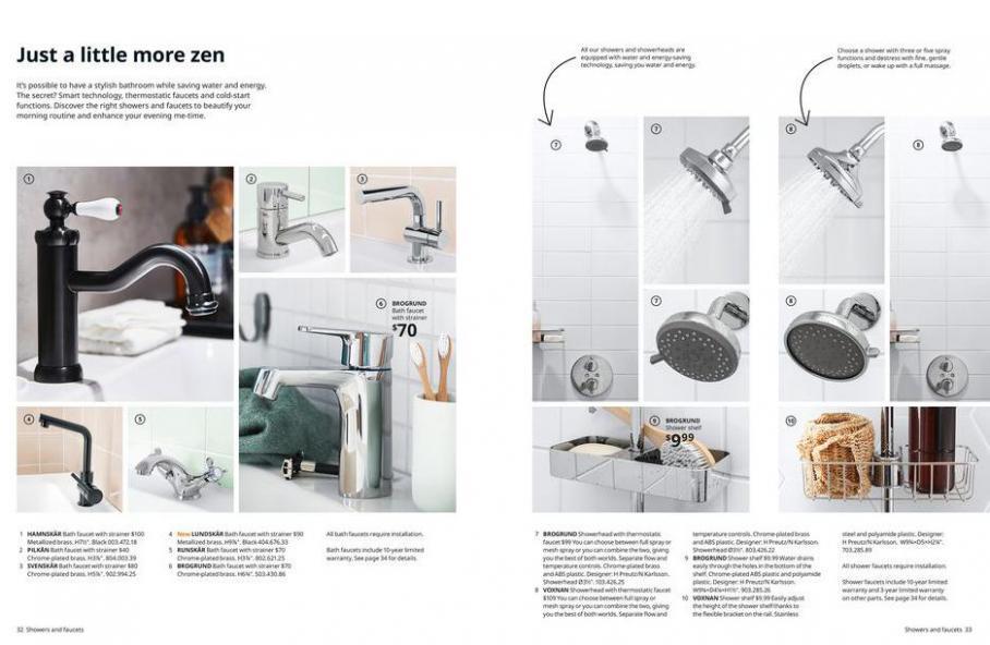 IKEA Bathroom 2021. Page 17