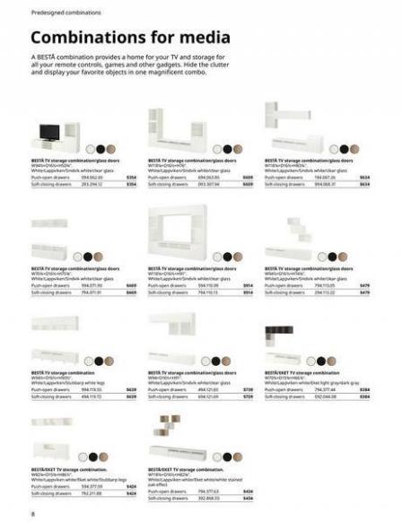 IKEA  BESTÅ BG 2022. Page 8
