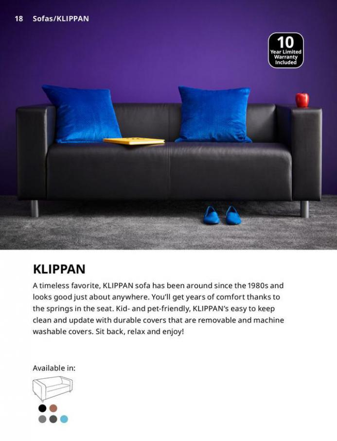 IKEA Sofa 2021. Page 18