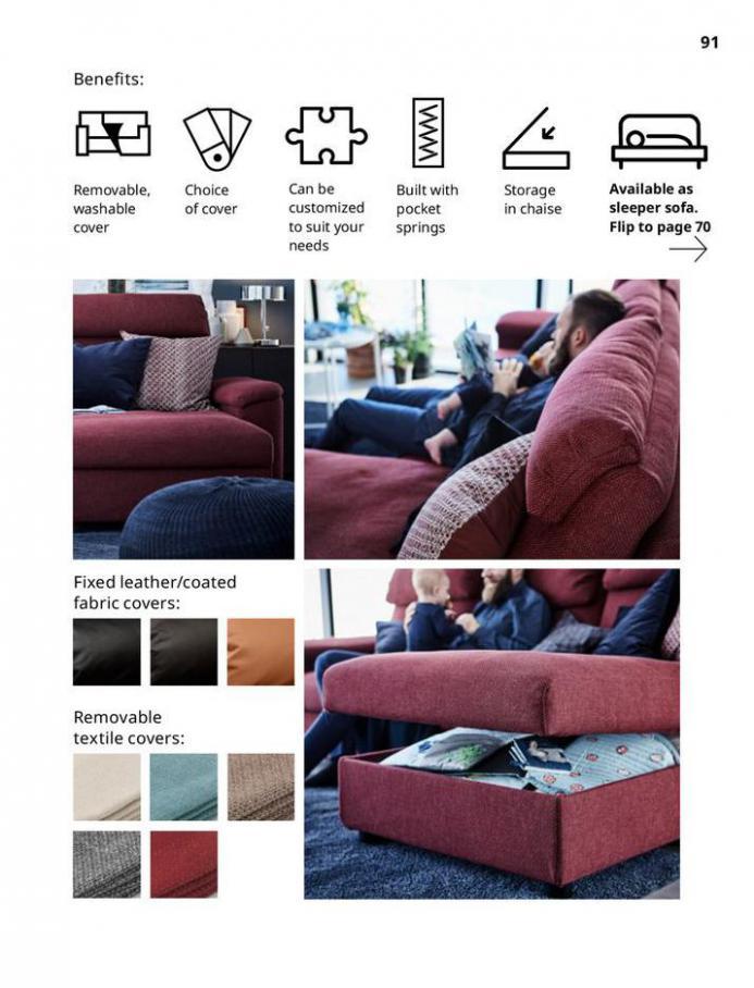 IKEA Sofa 2021. Page 91