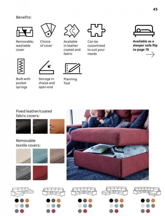 IKEA Sofa 2021. Page 45