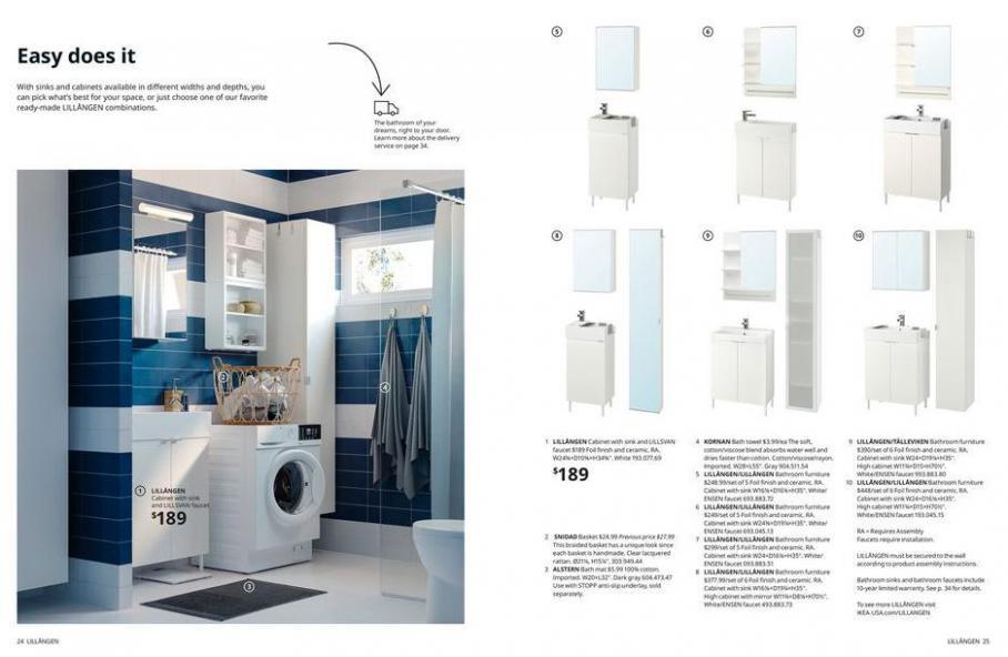 IKEA Bathroom 2021. Page 13