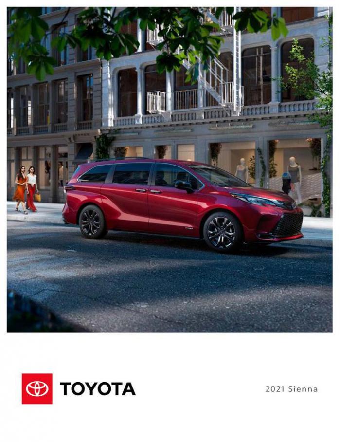 Toyota Sienna. Bilia (2021-10-31-2021-10-31)