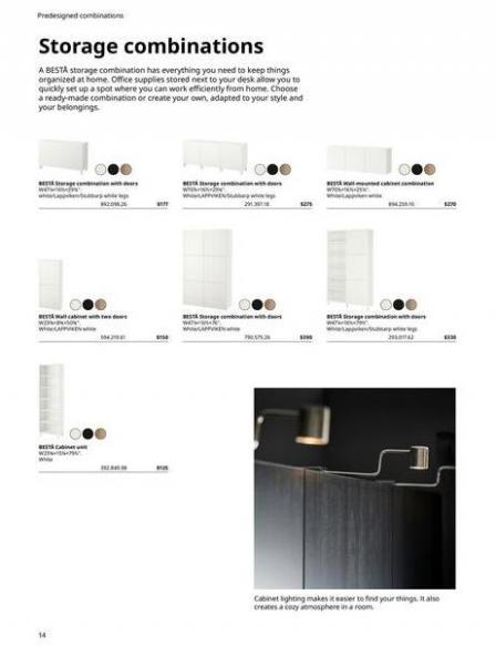 IKEA  BESTÅ BG 2022. Page 14