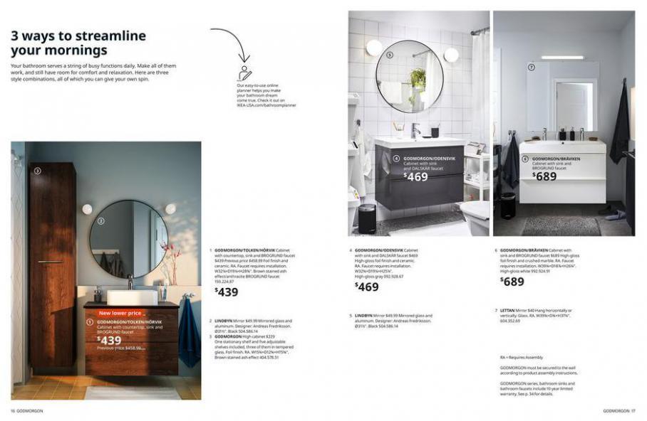 IKEA Bathroom 2021. Page 9