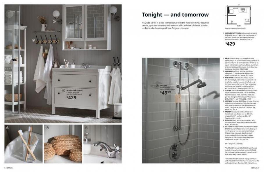 IKEA Bathroom 2021. Page 4