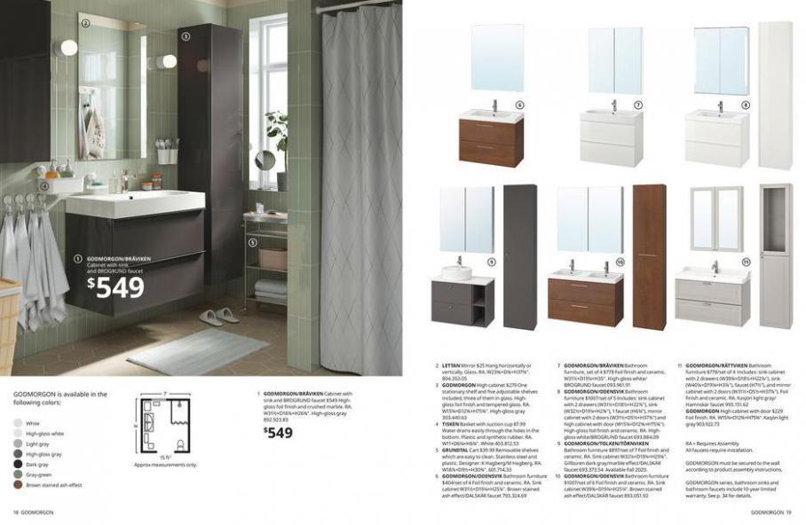 IKEA Bathroom 2021. Page 10