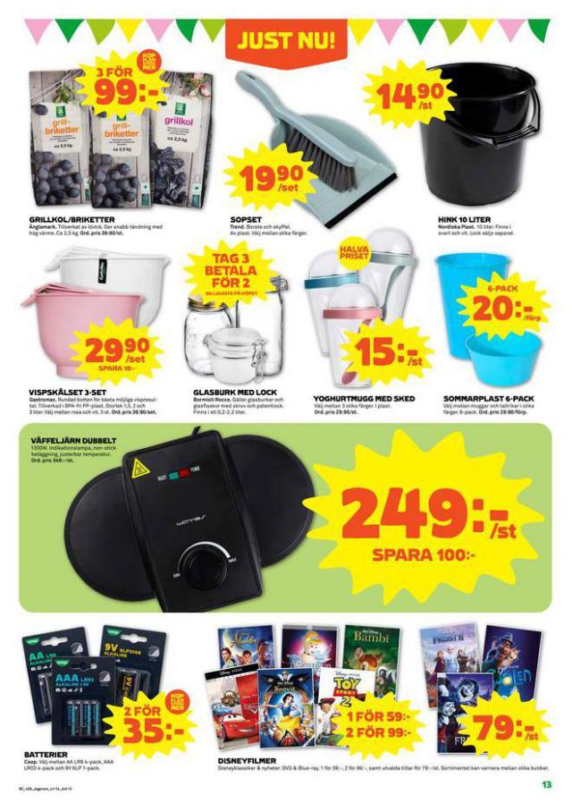 Coop Forum reklamblad. Page 13