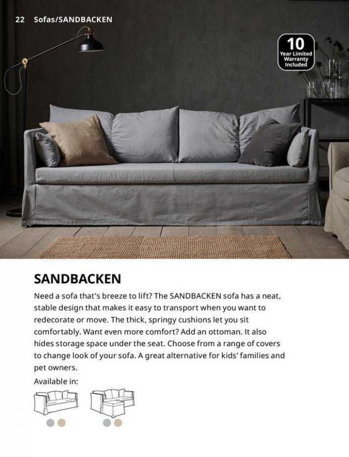 IKEA Sofa 2021. Page 22