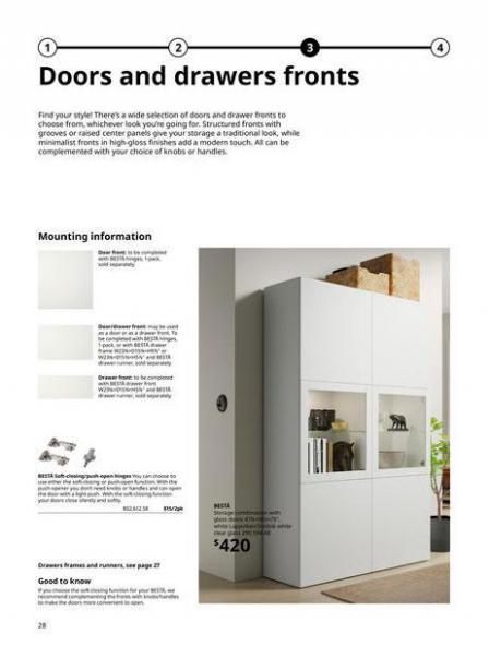 IKEA  BESTÅ BG 2022. Page 28