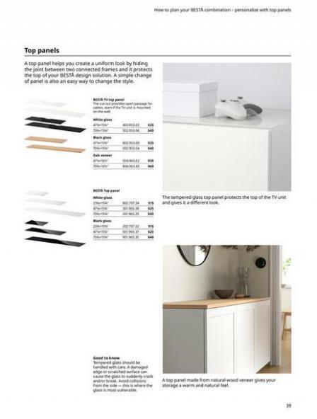 IKEA  BESTÅ BG 2022. Page 39