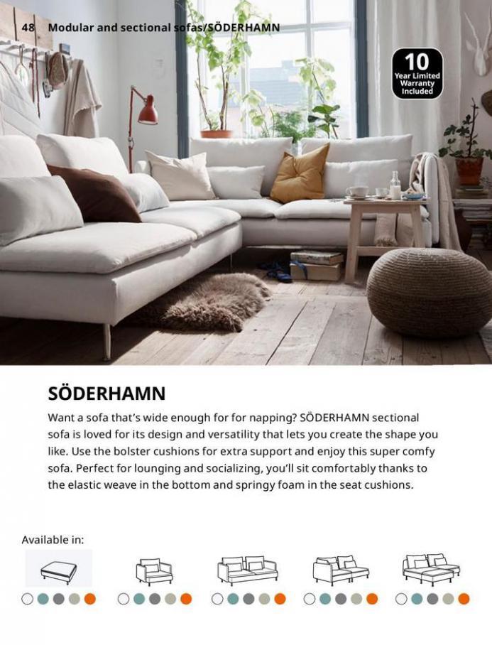 IKEA Sofa 2021. Page 48