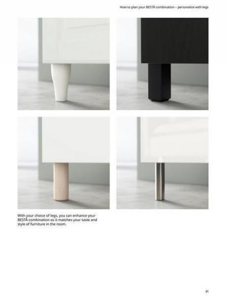 IKEA  BESTÅ BG 2022. Page 41