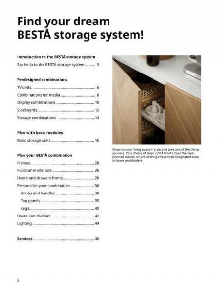 IKEA  BESTÅ BG 2022. Page 2