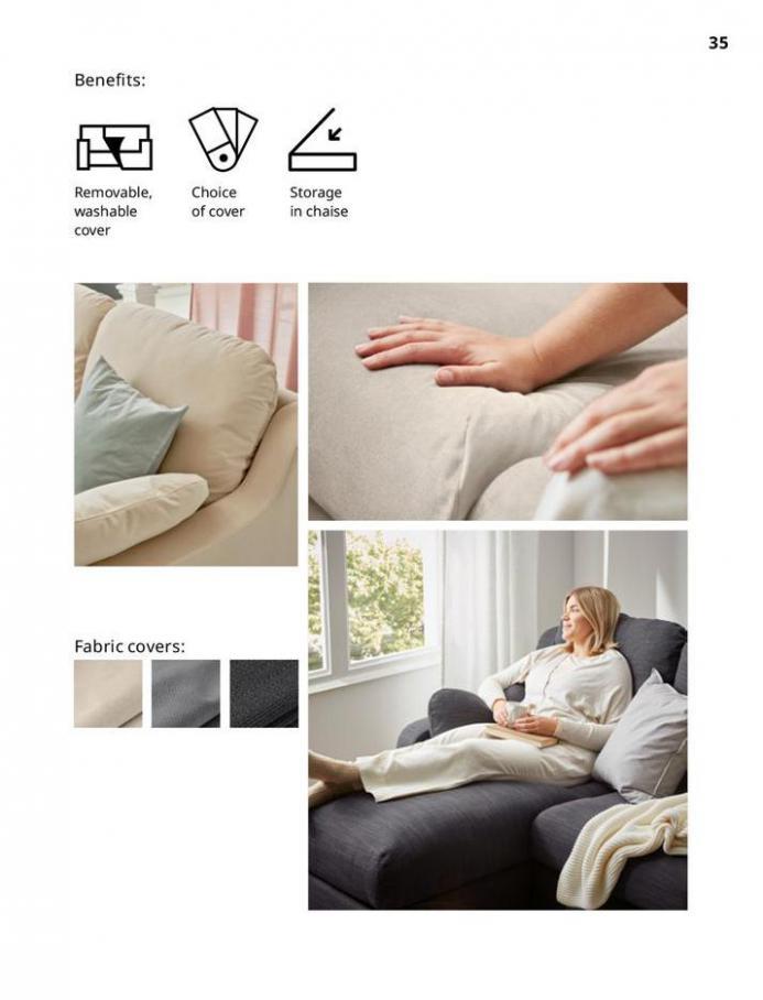 IKEA Sofa 2021. Page 35