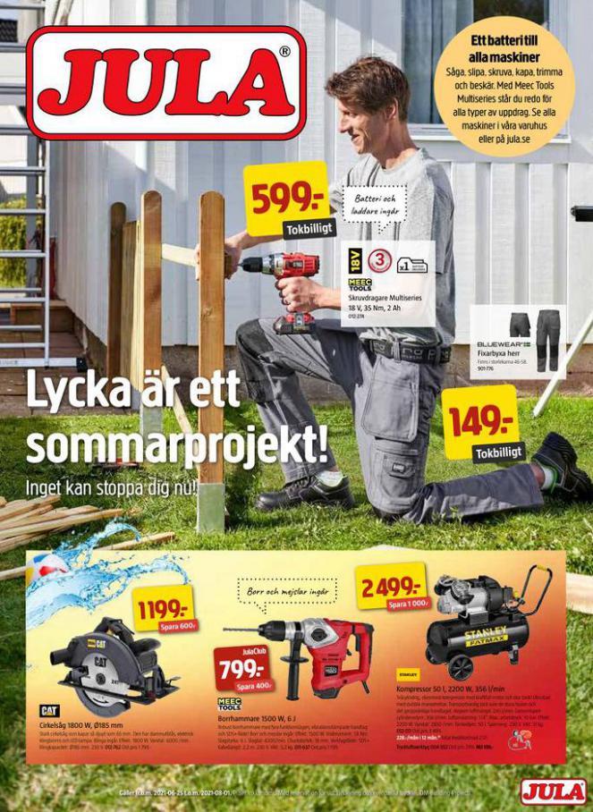 Jula reklamblad. Jula (2021-08-01-2021-08-01)