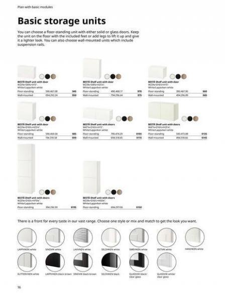 IKEA  BESTÅ BG 2022. Page 16