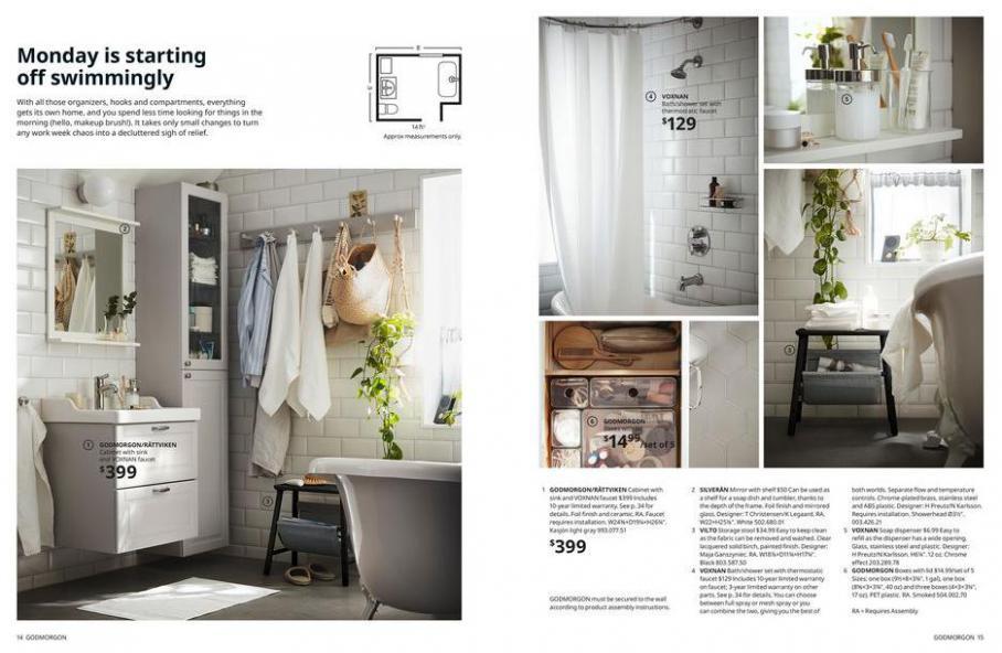 IKEA Bathroom 2021. Page 8