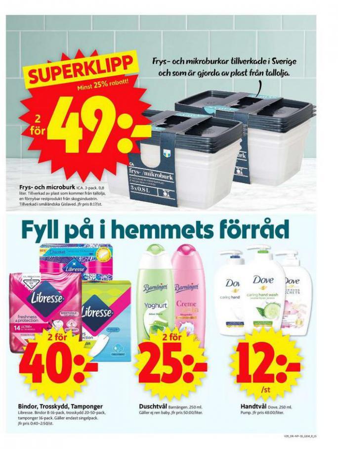 ICA Supermarket Erbjudanden. Page 15