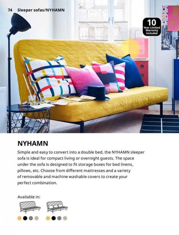 IKEA Sofa 2021. Page 74
