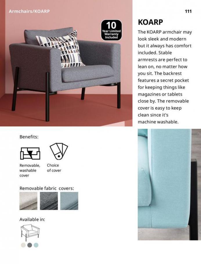 IKEA Sofa 2021. Page 111