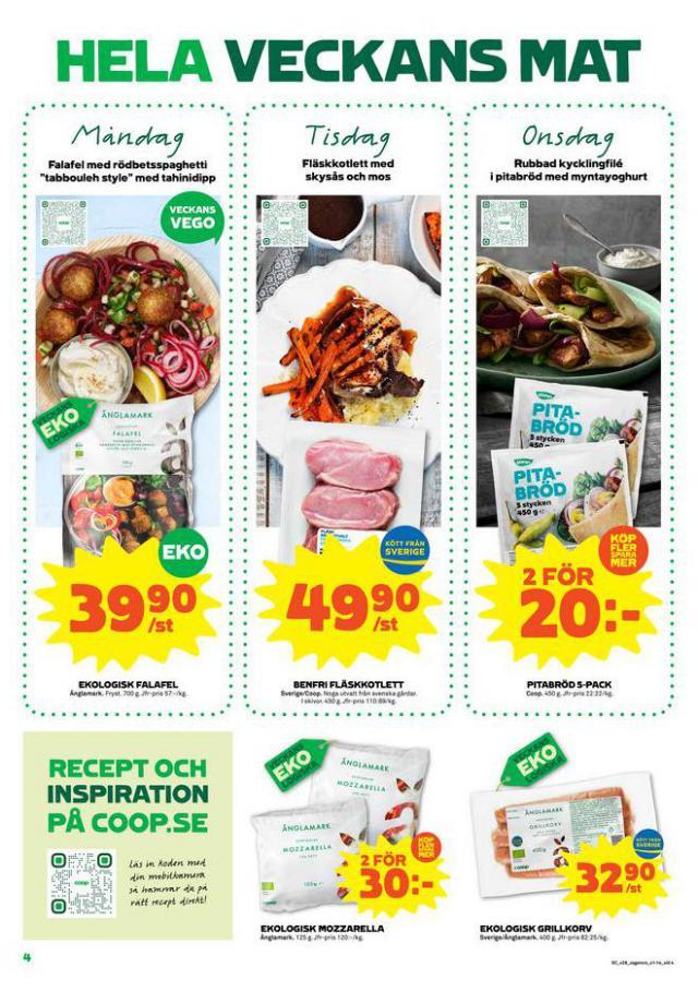 Coop Forum reklamblad. Page 4