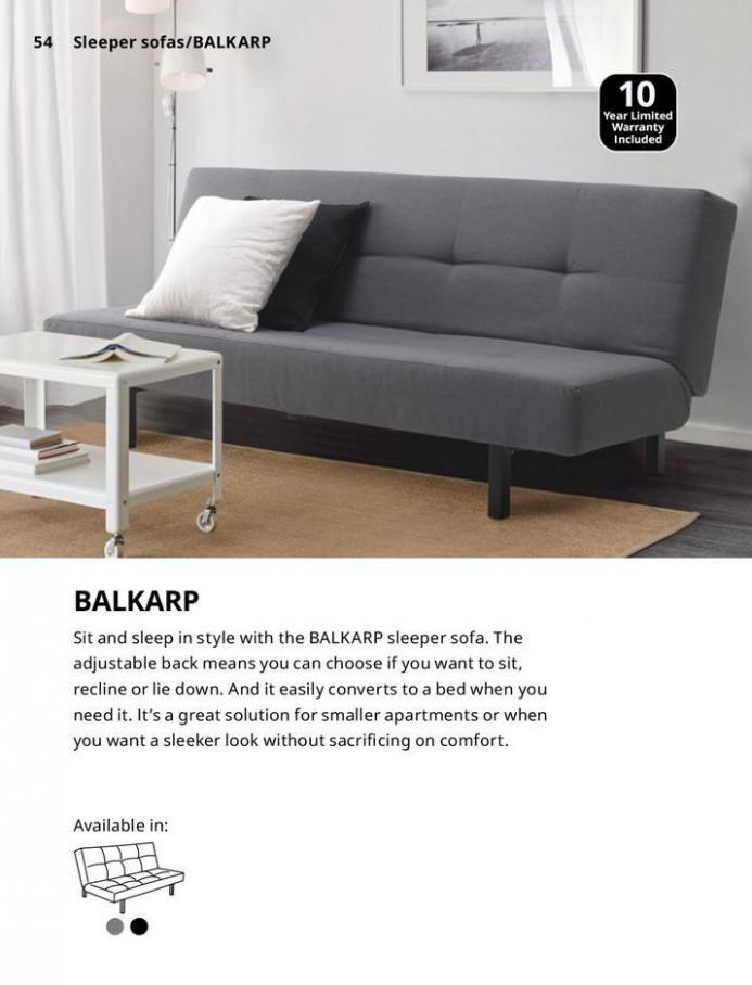 IKEA Sofa 2021. Page 54