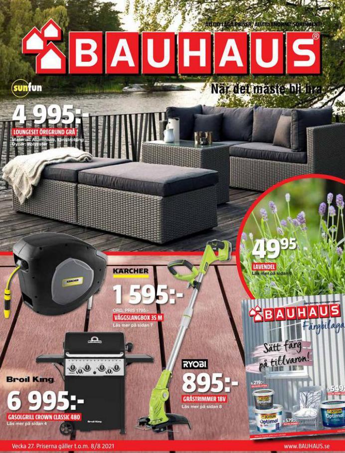 Bauhaus Erbjudande Aktuella Kampanjer. Bauhaus (2021-08-08-2021-08-08)