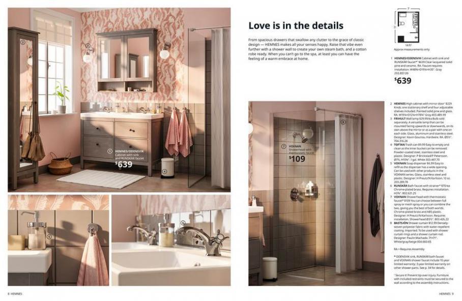 IKEA Bathroom 2021. Page 5