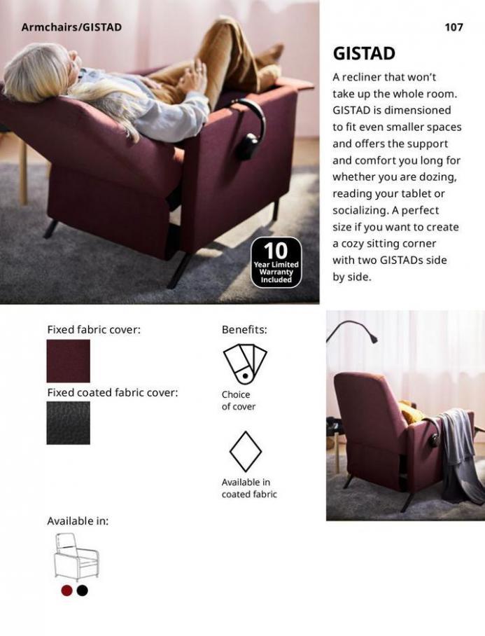 IKEA Sofa 2021. Page 107
