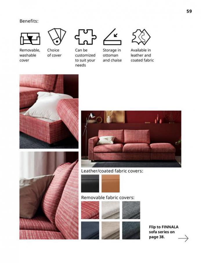 IKEA Sofa 2021. Page 59