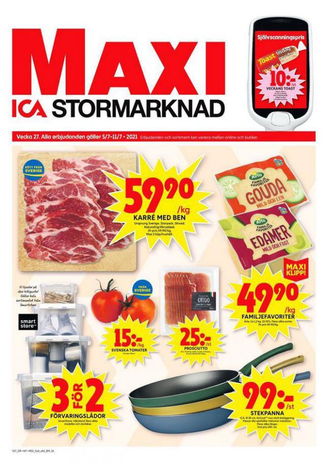 ICA Maxi Erbjudanden. ICA Maxi (2021-07-11-2021-07-11)