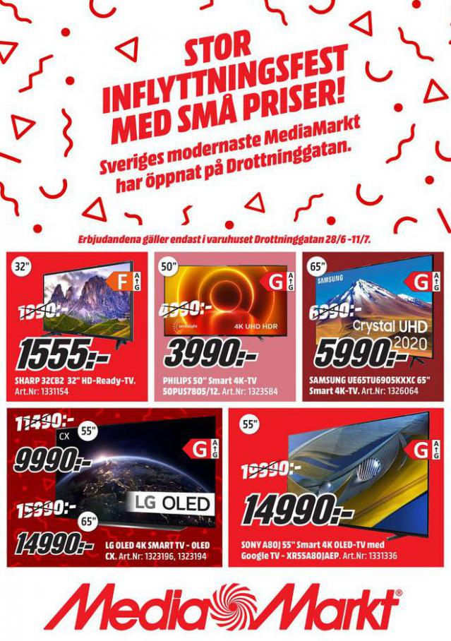 Media Markt Erbjudande Kampanjer. Media Markt (2021-07-11-2021-07-11)