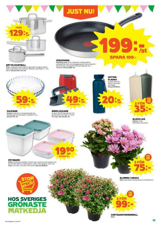 Coop Forum reklamblad. Page 15