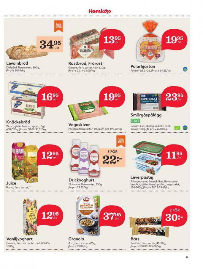 Hemköp Erbjudanden. Page 9