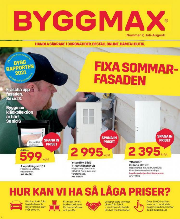 Byggmax Erbjudande Juli - Augusti 2021. Byggmax (2021-08-31-2021-08-31)