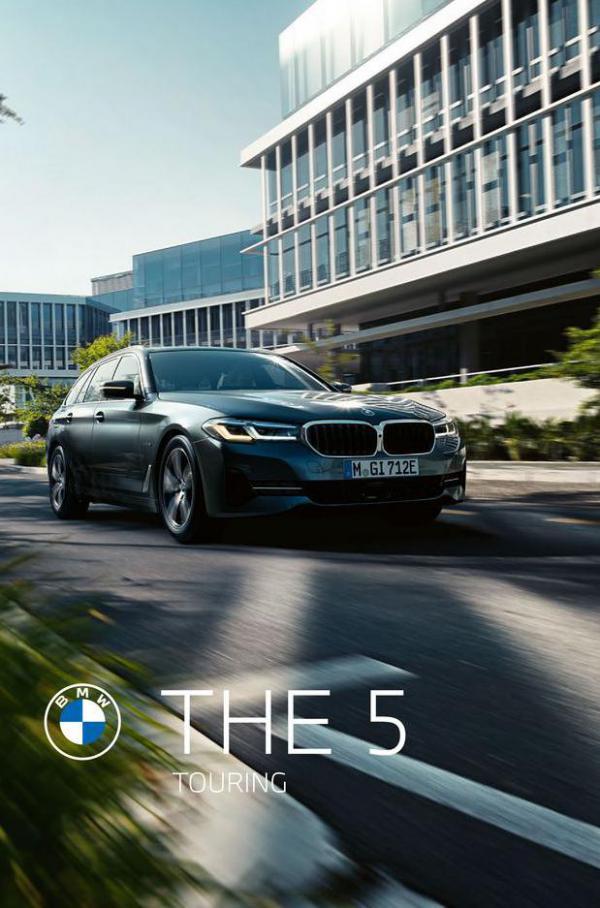 BMW 5-serie Touring. BMW (2021-08-23-2021-08-23)