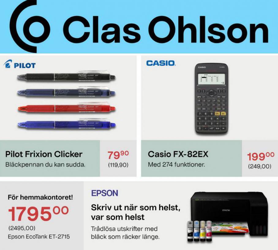 Erbjudande. Clas Ohlson (2021-09-06-2021-09-06)