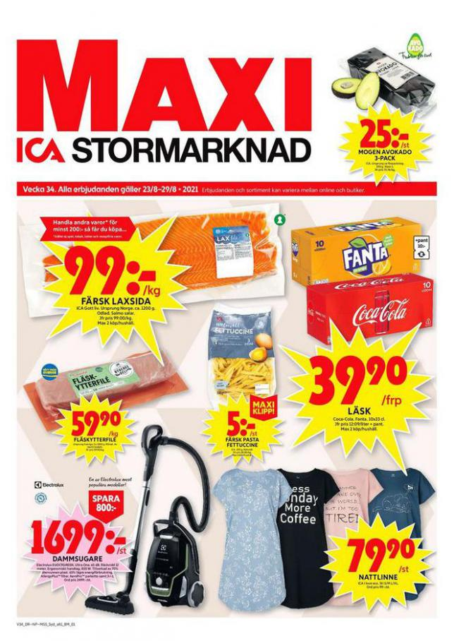 ICA Maxi Erbjudanden. ICA Maxi (2021-08-29-2021-08-29)
