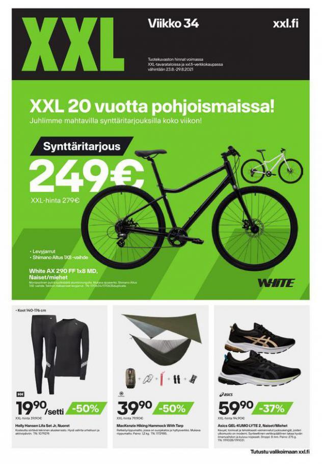 XXL Erbjudande XXL 20 vuotta pohjoismaissa!. XXL (2021-08-29-2021-08-29)