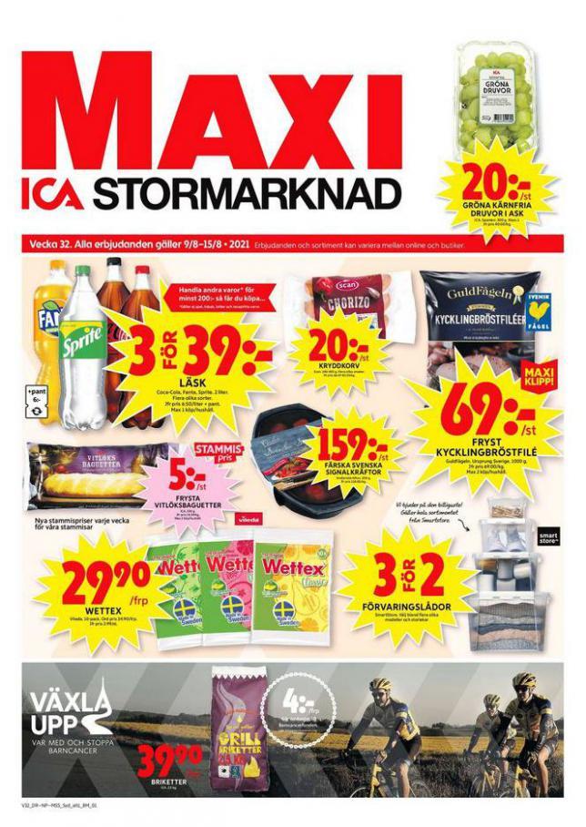 ICA Maxi Erbjudanden. ICA Maxi (2021-08-15-2021-08-15)